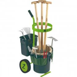 ZIPPER Chariot d'outils de jardinage (sans outils inclus) ZI-UVGW1