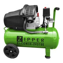 ZIPPER Compresseur air 50 litres avec accessoires ZI-COM50-2V10E