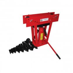 Holzmann Cintreuse verticale manuelle hydraulique 16 T + 8 formes RBM 16