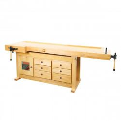 Holzmann Etabli bois 2100 x 780 mm WB210C