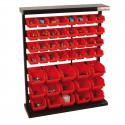 Holzmann étagère de rangement avec 47 bacs plastique KSR94