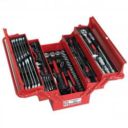 Holzmann Boîte de 86 outils WZK86CRV chrome vanadium