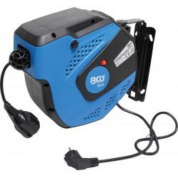 BGS TECHNIC Enrouleur de câble automatique 15 m