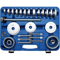 BGS TECHNIC Jeu d'outils arrache roulement de roue 31 pièces