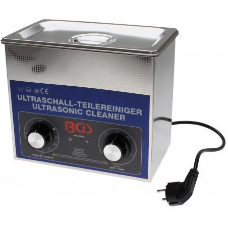 BGS TECHNIC Bac à ultrason 3 litres 8990