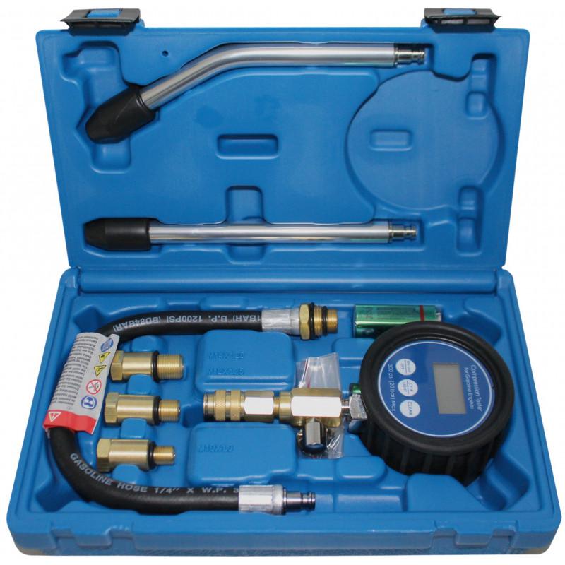 BGS TECHNIC Compressiomètre numérique pour moteurs à essence