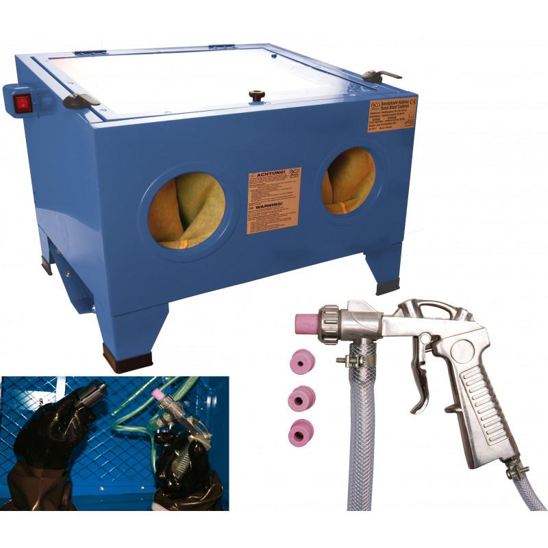 BGS TECHNIC Cabine de sablage à air comprimé