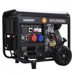 HYUNDAI Groupe électrogène diesel 8 kVA DHY8500LEK-T