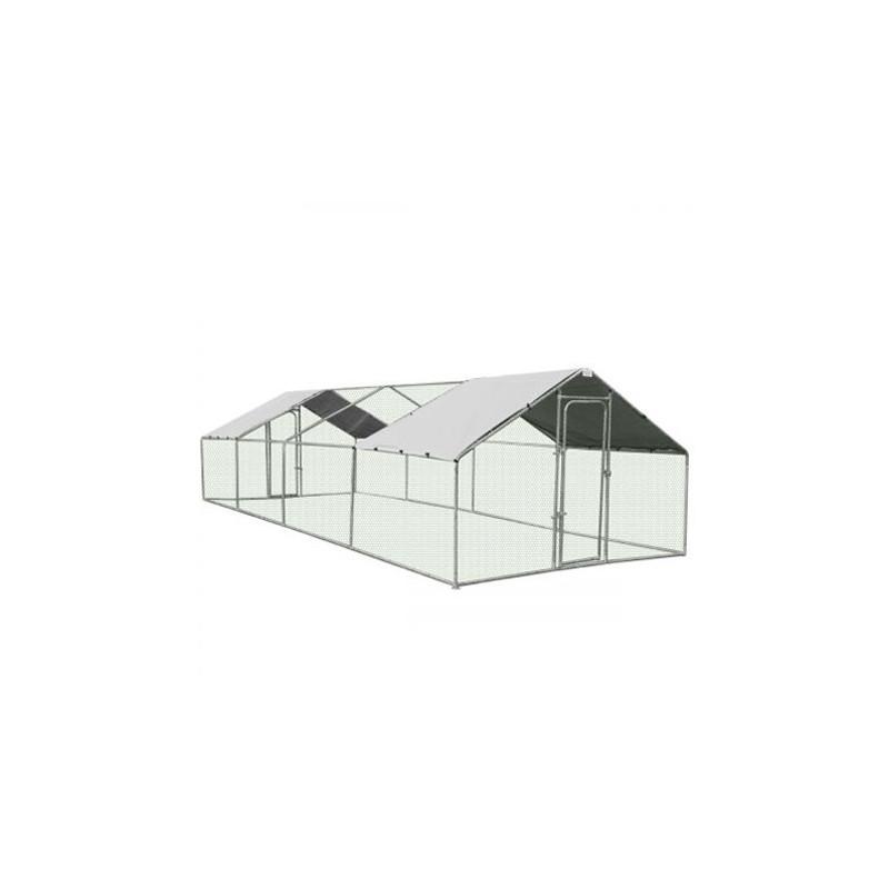 ZIPPER Poulailler 3x8x2m ZI-CR382