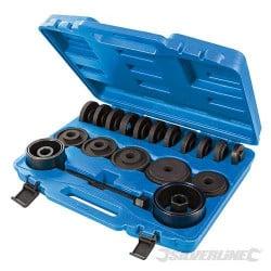 Silverline Kit d'outils de montage et de démontage de roulements, 22 pcs