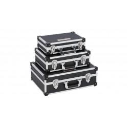 Varo 3 Valises aluminium noir KRT640401B