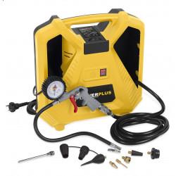 Varo Compresseur POWX1704 100W sans huile + 10 accessoires