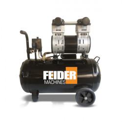 FEIDER Compresseur 100 litres 3 cv - bi -cylindre lubrifié FC100L