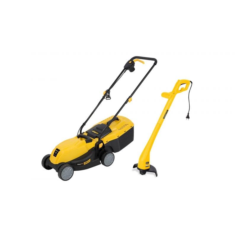 Varo Tondeuse électrique 1200W + Coupe bordure 250W POWXG6211T