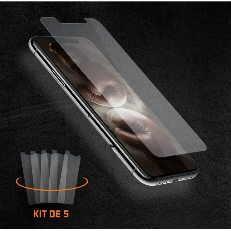 Energizer 5 Ecrans de protection en verre trempé SP2IP61X5M pour Iphone XR