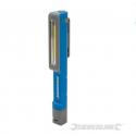 SILVERLINE Lampe de poche LED COB 1,5W ultra-lumineuse 753301