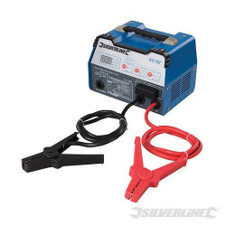 SILVERLINE Chargeur de batterie automatique 6/12 V