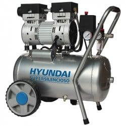 HYUNDAI Compresseur 24L Super Silencieux 125L/min 750W HYAC24-1S