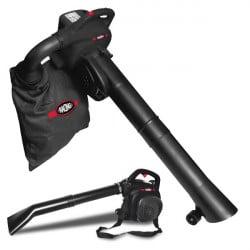 RACING Aspirateur souffleur broyeur thermique 30 cm³ 200 Km/h 40 L RAC33ASBT-1