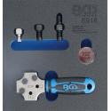 BGS TECHNIC Presse à collets professionnelle spécialement pour automobiles BGS8918