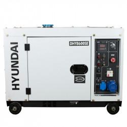 Groupe électrogène diesel Hyundai DHY8600SE 6300w mono