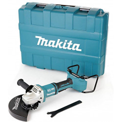 Makita DGA900ZJ 18V Twin LXT Brushless 230mm meuleuse d'angles avec coffret 18 V