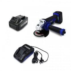 HYUNDAI Meuleuse 125mm sans fil avec batterie et chargeur HM20V4A