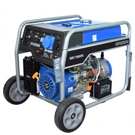 HYUNDAI Groupe électrogène essence 5500W déma élec AVR HHY7000FEK
