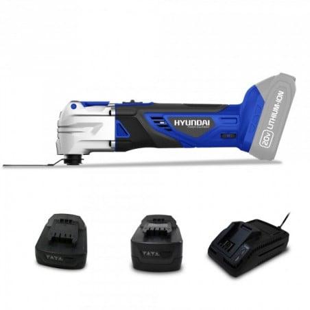 Outil multifonction sans fil 20 V batteries 2 & 4 Ah