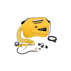 Varo Compresseur POWX1706 1100W sans huile + 11 accessoires