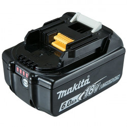 MAKITA Batterie Makstar Li-Ion 18V / 6 Ah - BL1860B (témoin de charge intégré)