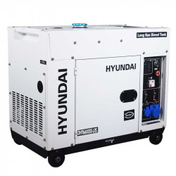 Hyundai groupe électrogène diesel 5000 watts DHY6600SE-LRS