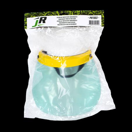 JR Visière de protection transparente PRT003