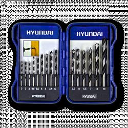 HYUNDAI Coffret de forets 15pcs HCO15
