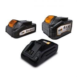 FEIDER Batterie 20 V 2 & 4...