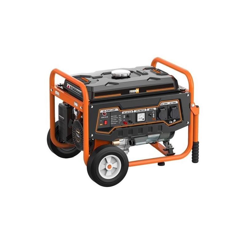 FEIDER Groupe électrogène essence de chantier 2900 W 2800 W - Système AVR FG3000-1