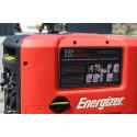 ENERGIZER Groupe électrogène essence Inverter 2200 W 2000 W - démarrage manuel avec lanceur EZG2200I