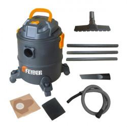 FEIDER HOME Aspirateur eau et poussière 1250 W 20 L FHAEP121520L