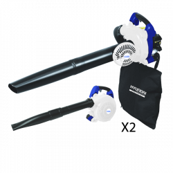 HYUNDAI SPECIALIST Aspirateur souffleur broyeur thermique 26 cm³ 180 Km/h 40 L HASBT30SP-1