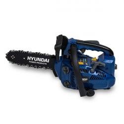 Elagueuse thermique 25.4 cm³ 25 cm - Guide et chaîne HYUNDAI - Deuxième chaîne gratuite HEL30-3-2
