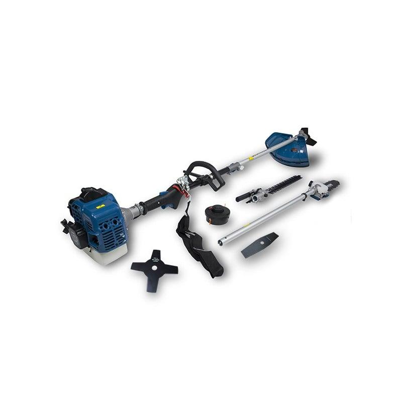HYUNDAI Multifonction thermique 33 cm³ - 4 en 1 - Moteur à vilebrequin double - Harnais HCOMBI336F-A