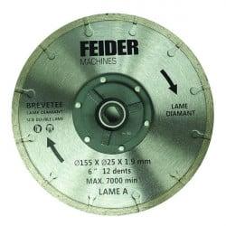 FEIDER Lame pour scie double FDL155DB