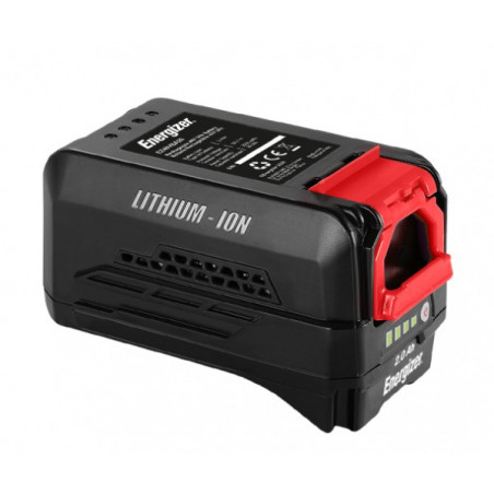 ENERGIZER Batterie 40 V 4 Ah - Témoin de charge LED EZ40VBA4