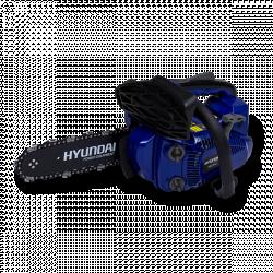 HYUNDAI Elagueuse thermique 25 cm³ 25 cm - Guide et chaîne Hyundai - Deuxième chaîne gratuite HEL252C