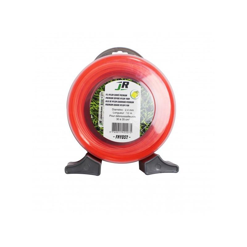 JR Fil nylon 2.4 mm - Carré - Premium FNY052