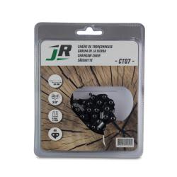 JR Chaine de tronçonneuses 30 cm - Nombre d'entraîneurs 44 - Jauge .050 (1.3mm) CT07