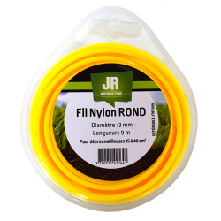 JR Fil nylon 3 mm - Rond FNY009