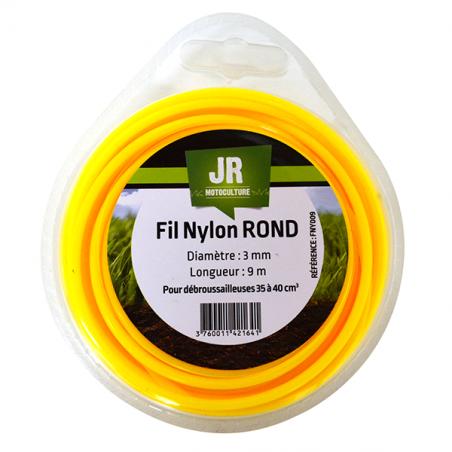 JR Fil nylon 3 mm - Rond FNY009