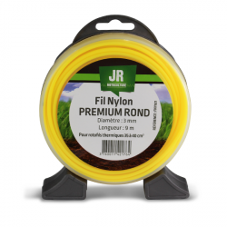 JR Fil nylon 3 mm - Rond - Premium FNY021