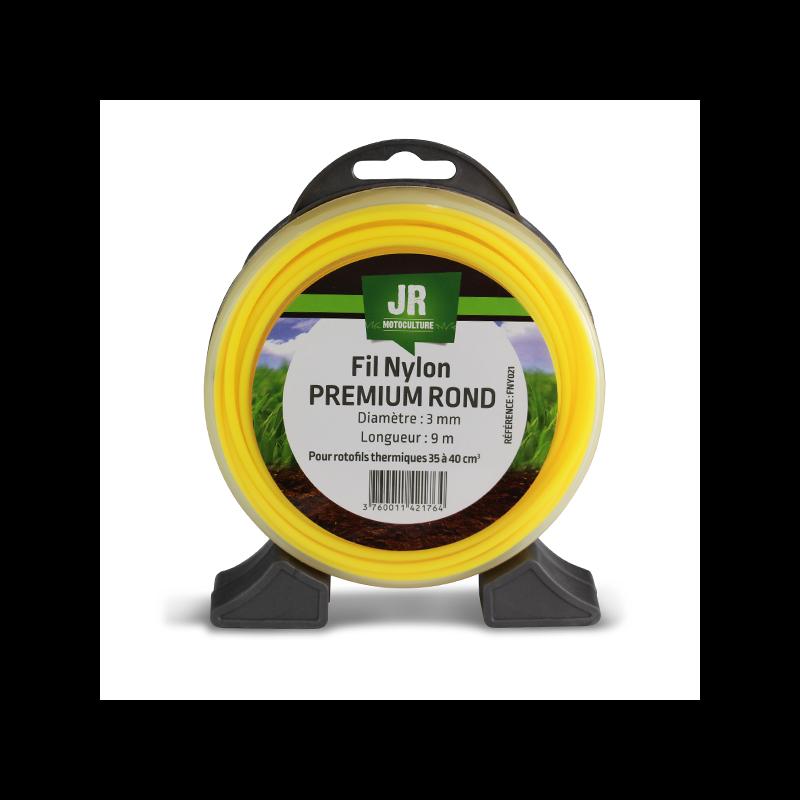 JR Fil nylon 3 mm - Rond - Premium FNY021